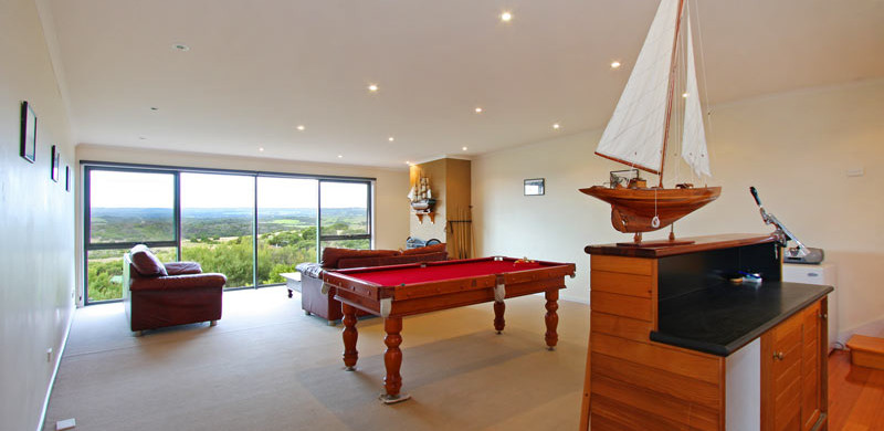 holiday home mornington peninsula games room