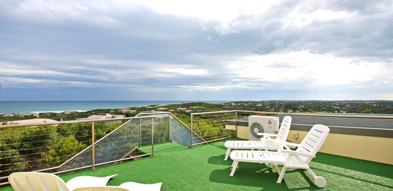 holiday home mornington peninsula view from roof