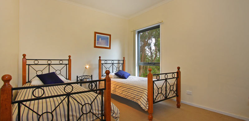 holiday home mornington peninsula twin room